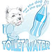 Toilet Water: for the dog on the go!